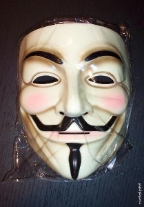 The Guy Fawkes Mask is an icon amongst the Occupy sympathizers
